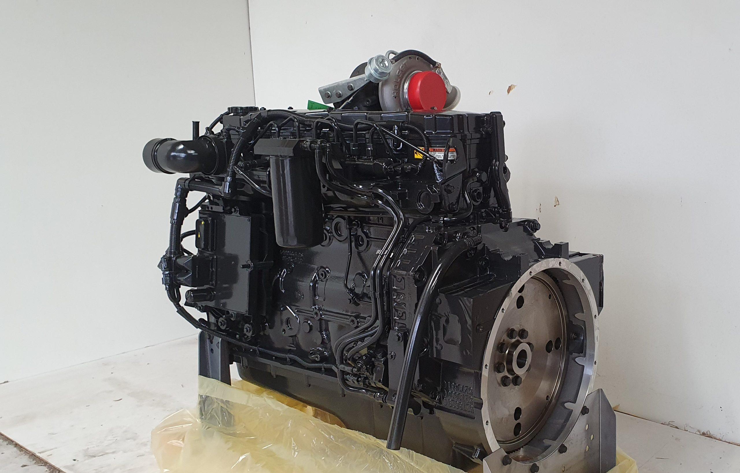 Cummins QSB6.7 160hp Engine.